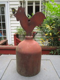 Decorative Metal Rooster Bell  Approx. 16