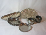 Lot - Misc. Silver Plate