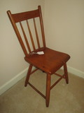 Pine Farm House Side Chair w/One Board Seat.  Great Small Chair!