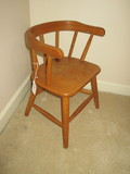 Childs Maple Captains Chair - Cute!
