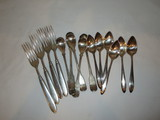 Lot - William Rogers Flatware  Forks & Spoons
