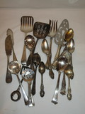 Lot - Misc. Silver Plated Serving Pieces & Other   Great Lot!