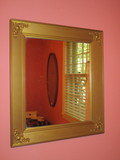 Wall Mirror in Gilt Frame