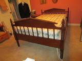 Jenny Lind Mahogany Twin Bed   80