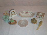 Lot - Misc. Porcelain & Other Trinkets, etc.