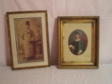2 Framed Vintage Photos - Instant Ancestors!