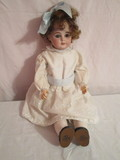 Vintage Armand Marseille German Bisque Head Doll - Jointed Composite Arms, Legs & Body