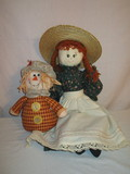 Vintage Hand Made Cloth Doll  24