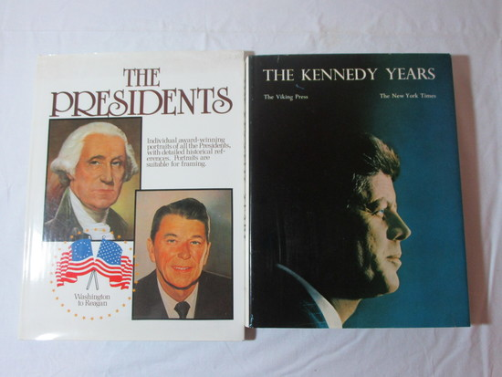 Book Lot - The Kennedy Years © 1964, & The Presidents © 1983