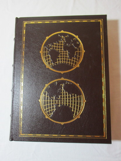 Easton Press Collector's Edition World Atlas - Leather Bound w/Gold Leaf Pages