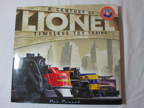 Lionel - A Century of Timeless Toy Trains - Coffee Table Book
