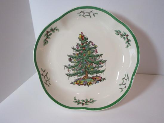 "Spode ""Christmas Tree"" - 8 1/2"" Vegetable Bowl"