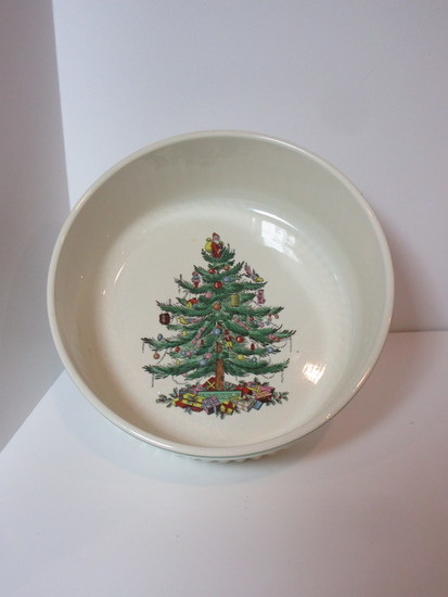 "Spode ""Christmas Tree"" - 7"" Soufflé Dish"