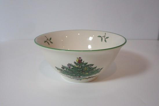 "Spode ""Christmas Tree"" - 5 1/2"" Nut Dish"