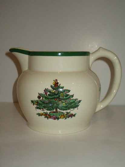 "Spode ""Christmas Tree"" - 4 1/2"" Milk Pitcher"