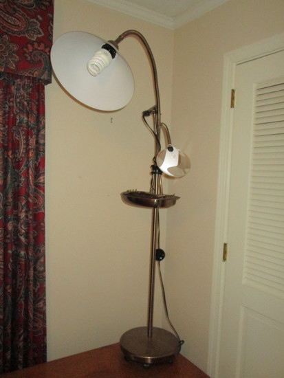 "Sewing/Magnifier Floor Lamp    57 1/2"" T  Approx."