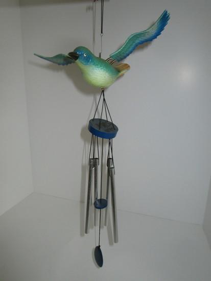 Blue Bird  Wind Chime