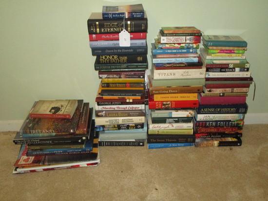 Book Lot - Misc. Hard Backs, etc.