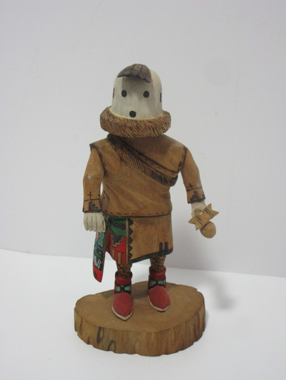 """Kachina Doll - Eototo.  Signed by Hopi Artist.  Approx. 6 1/2"""""""