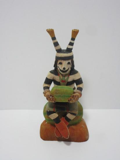 Kachina Doll - Tewa - Llown By Llewellyn  Hopi - Omaohoya Sichomovi Village.