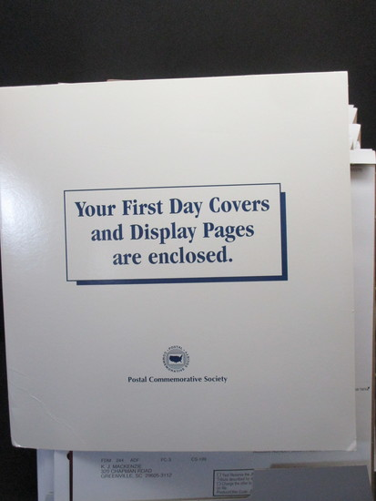 1st Day Covers - 2014     Postal Commemorative Society Cachets & Display Pages