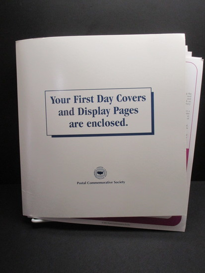 1st Day Covers - 2001     Postal Commemorative Society Cachets & Display Pages