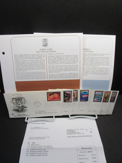 1st Day Covers - 2006   Small Lot of 6 Cachets & Pages