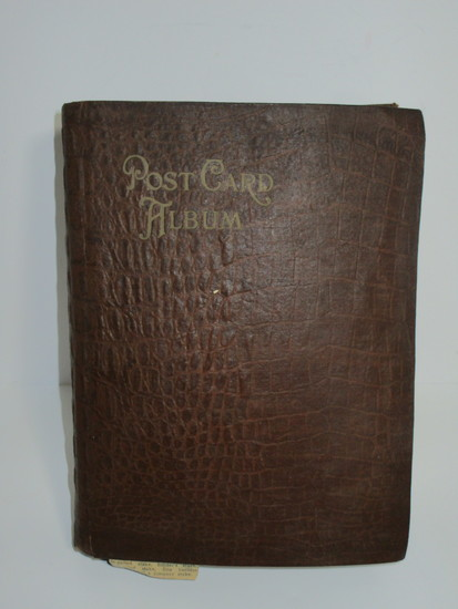 Lot - Vintage Post Card Album Full of Post Cards 1901 or Earlier, Through Approx. 1925