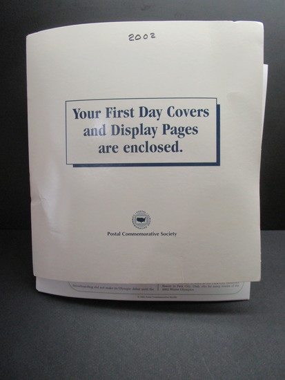 1st Day Covers - 2002     Postal Commemorative Society Cachets & Display Pages
