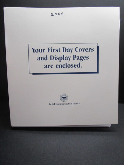 1st Day Covers - 2004     Postal Commemorative Society Cachets & Display Pages