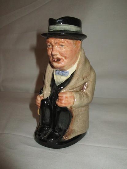 "Royal Doulton Winston Churchill Creamer  5"""
