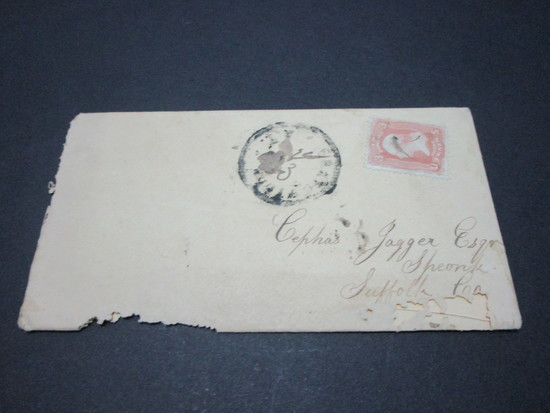 Scott 65 - Post Civil War Union Soldier Letter Dated December 10, 1865