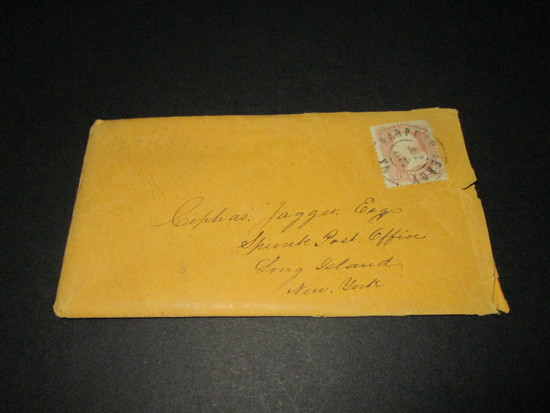 Scott 64 - Letter Postmarked Harpers Ferry, VA October 11, 1864.