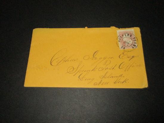 Scott 64 - Letter Postmarked Harpers Ferry, VA