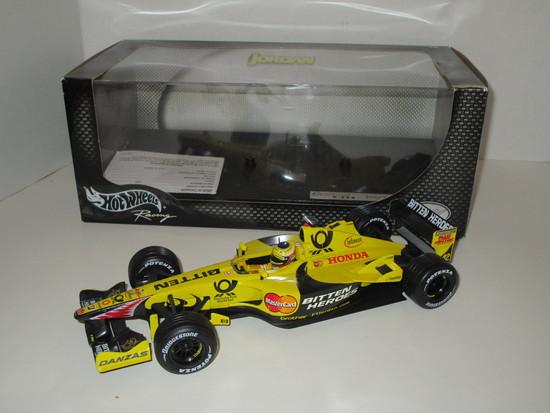 Jordan EJ11 1:18 Scale Die Cast Model of the Formula 1 Car