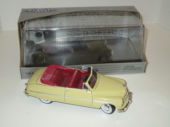 Limited Edition 1949 Mercury 1:24 Scale Die Cast Model
