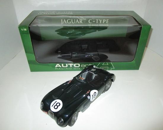 Jaguar C-Type Le Mans Winner  1:18 Scale Die Cast Model