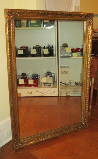 "Gilt Framed Mirror - 47 1/4"" X 33"""