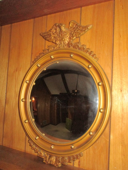 "Beautiful Federal Mirror w/ Convex Glass - Approx. 29"" x 22"" Overall"