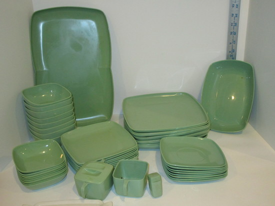 Lot - Byrd's Tranquil Ware Dishes - Approx. 40 pcs.