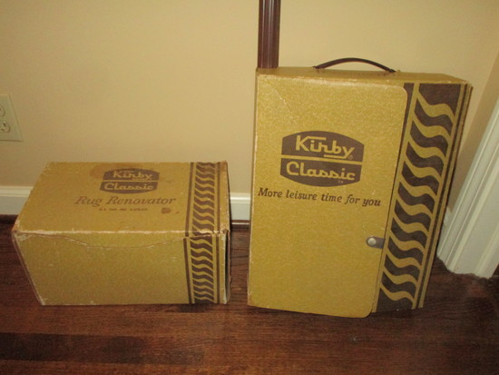 Lot - Kirby Classic Accessories w/2 Original Books