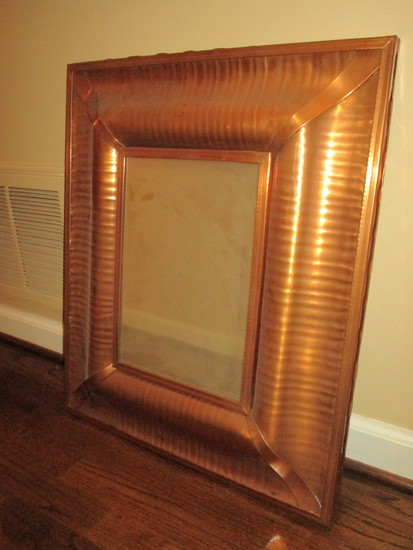 "Cooper Framed Mirror  25"" x 21"" Overall"