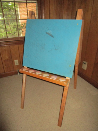 A Frame Wooden Art Easel - Used condition