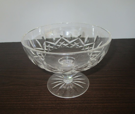 """Waterford Crystal 6 1/2"""" Compote"""