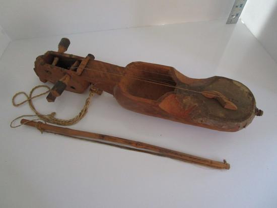 Primitive Wooden Instrument