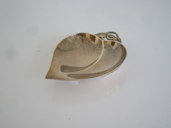 """Tiffany & Co Makers Sterling Heart Shaped Dish 3"""""""