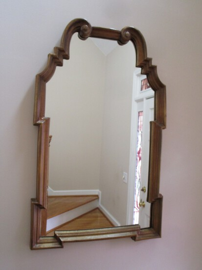 Decorative Wall Mirror w/ Gilt Frame