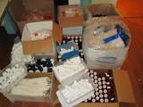 Huge Lot of Viles, Bottles, Ointment Jars, etc for Pharmacy