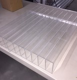 6 Clear Storage Dispensers Plexiglass Display Cases