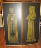 Pair of Rubbings - Religious Figures - 11
